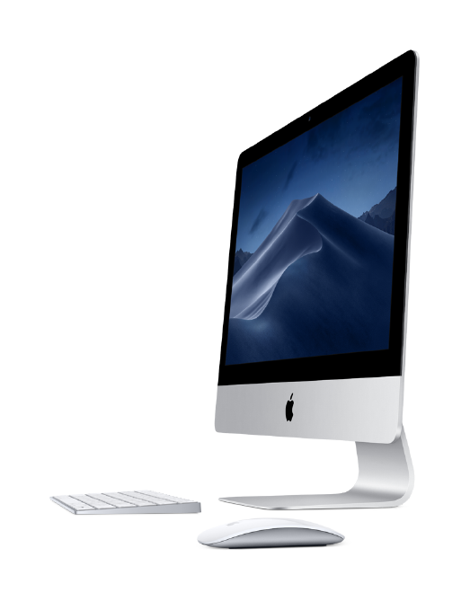 Makro Office iMac 21 pulgadas con Magic keyboard y Magic mouse